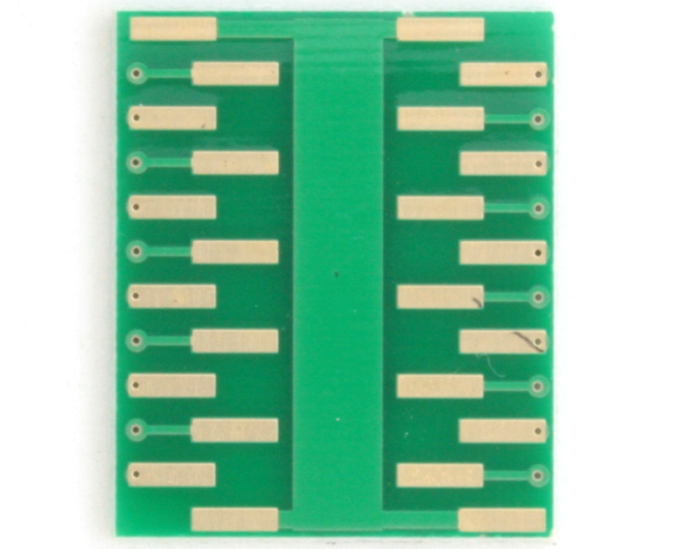 QFN-20 to DIP-24 SMT Adapter (0.45 mm pitch, 3.0 x 3.0 mm body) 3