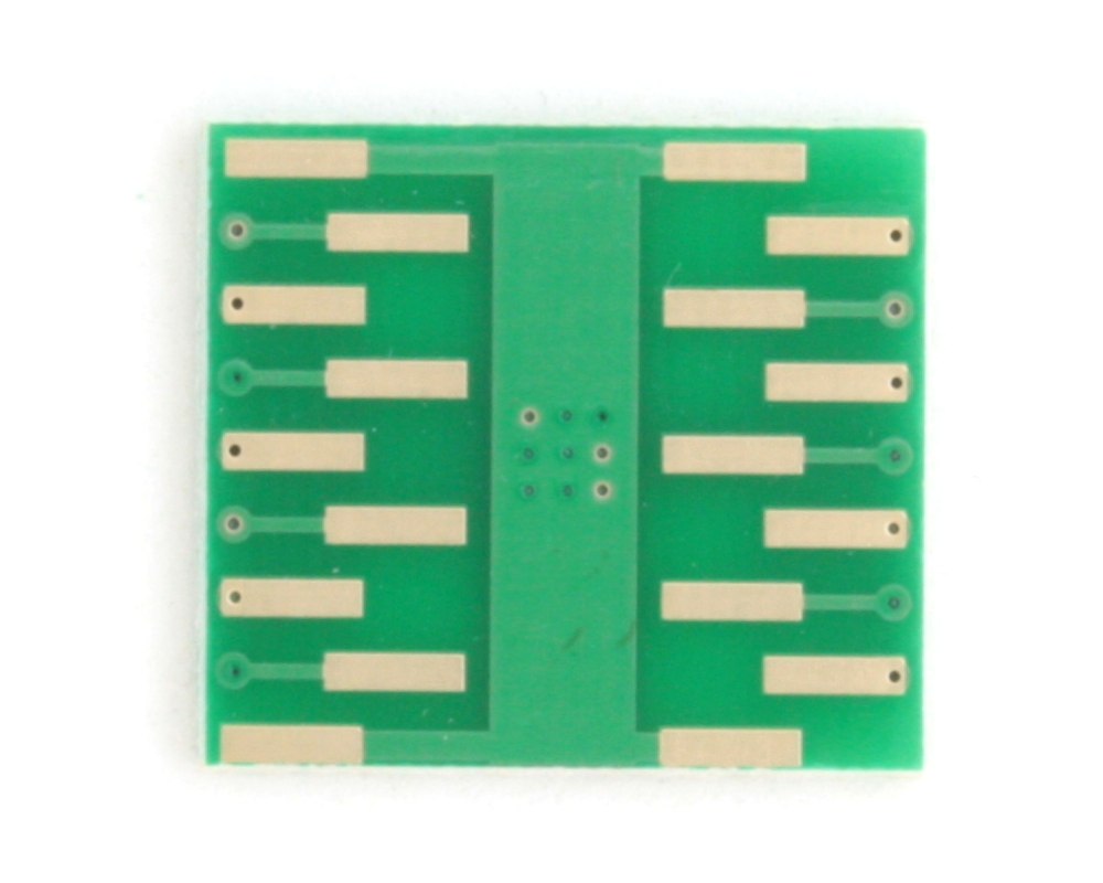 DFN-14 to DIP-18 SMT Adapter (0.5 mm pitch, 5.0 x 5.0 mm body) 3