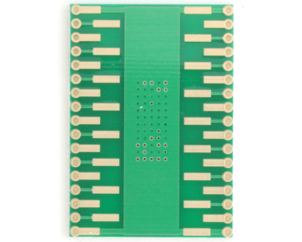 HSOP-30 to DIP-34 SMT Adapter (0.8 mm pitch, 16 x 11 mm body) 3