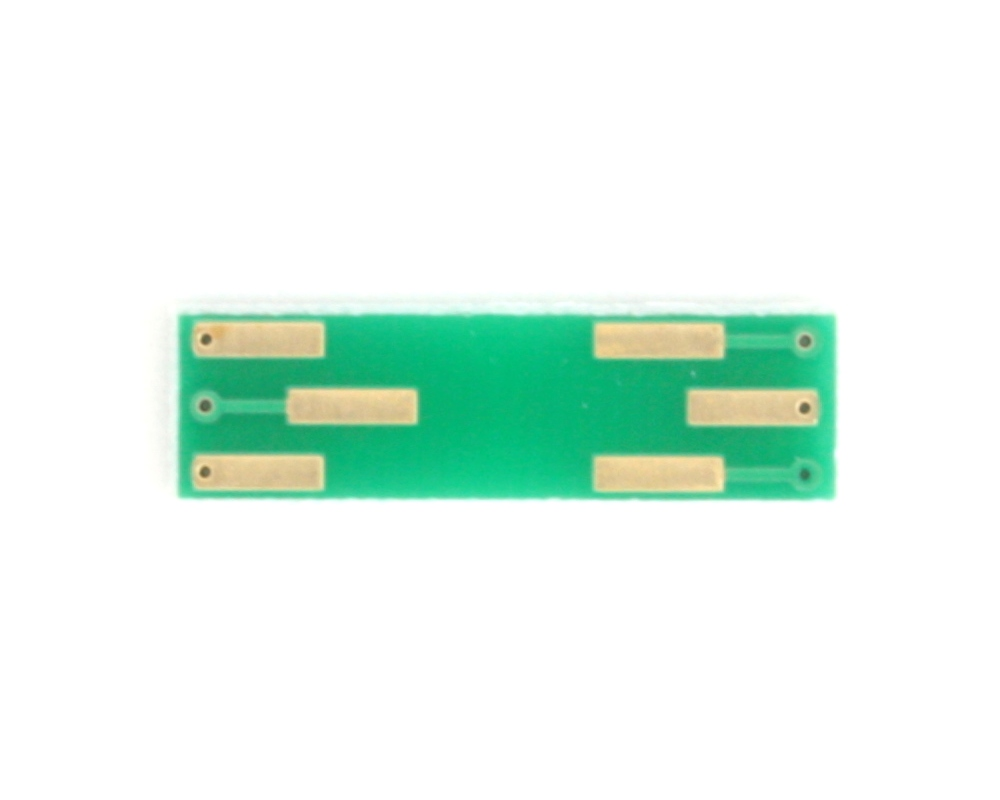 DFN-6 to DIP-6 SMT Adapter (0.5 mm pitch, 1.45 x 1.0 mm body) 3
