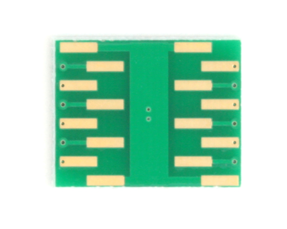 DFN-12 to DIP-16 SMT Adapter (0.45 mm pitch, 3.0 x 3.0 mm body) 3
