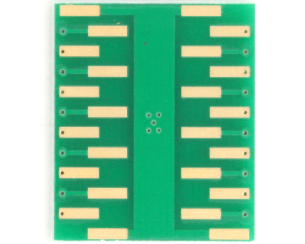 QFN-20 to DIP-24 SMT Adapter (0.5 mm pitch, 4.5 x 3.5 mm body) 3