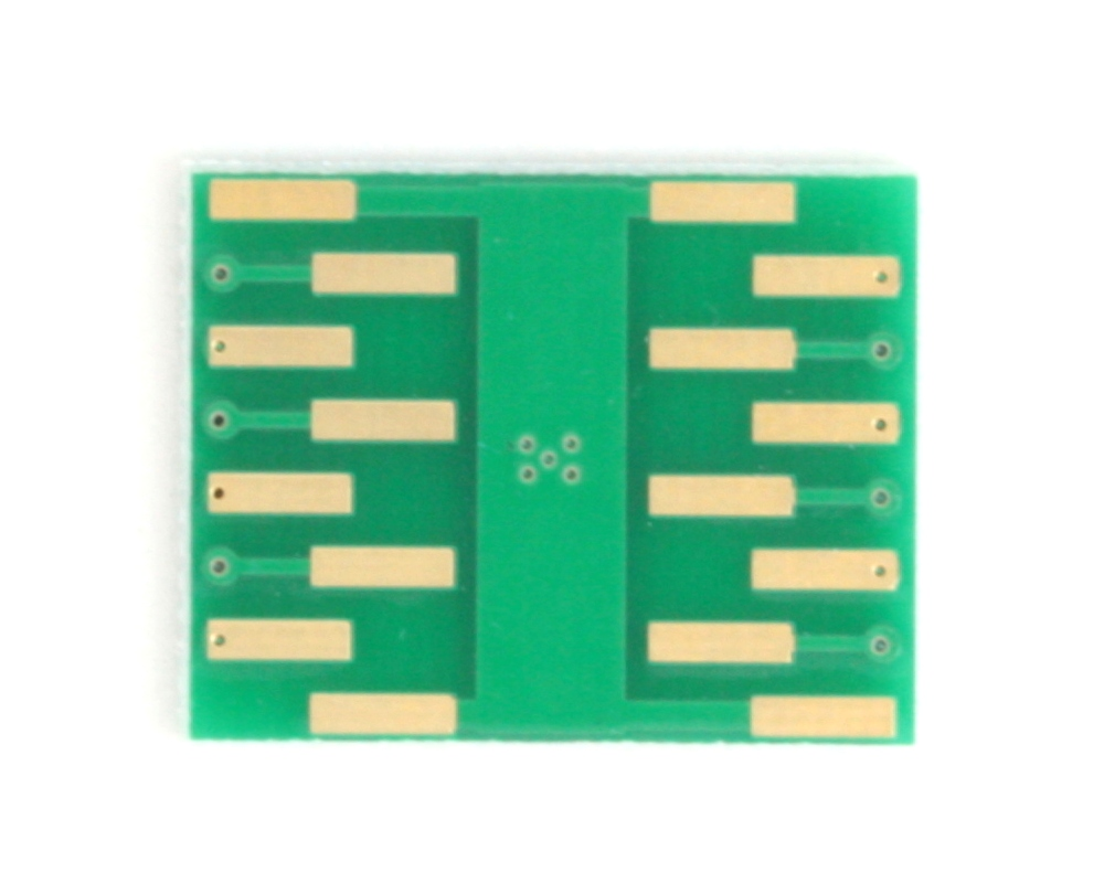 DFN-12 to DIP-16 SMT Adapter (0.4 mm pitch, 2.5 x 4.0 mm body) 3