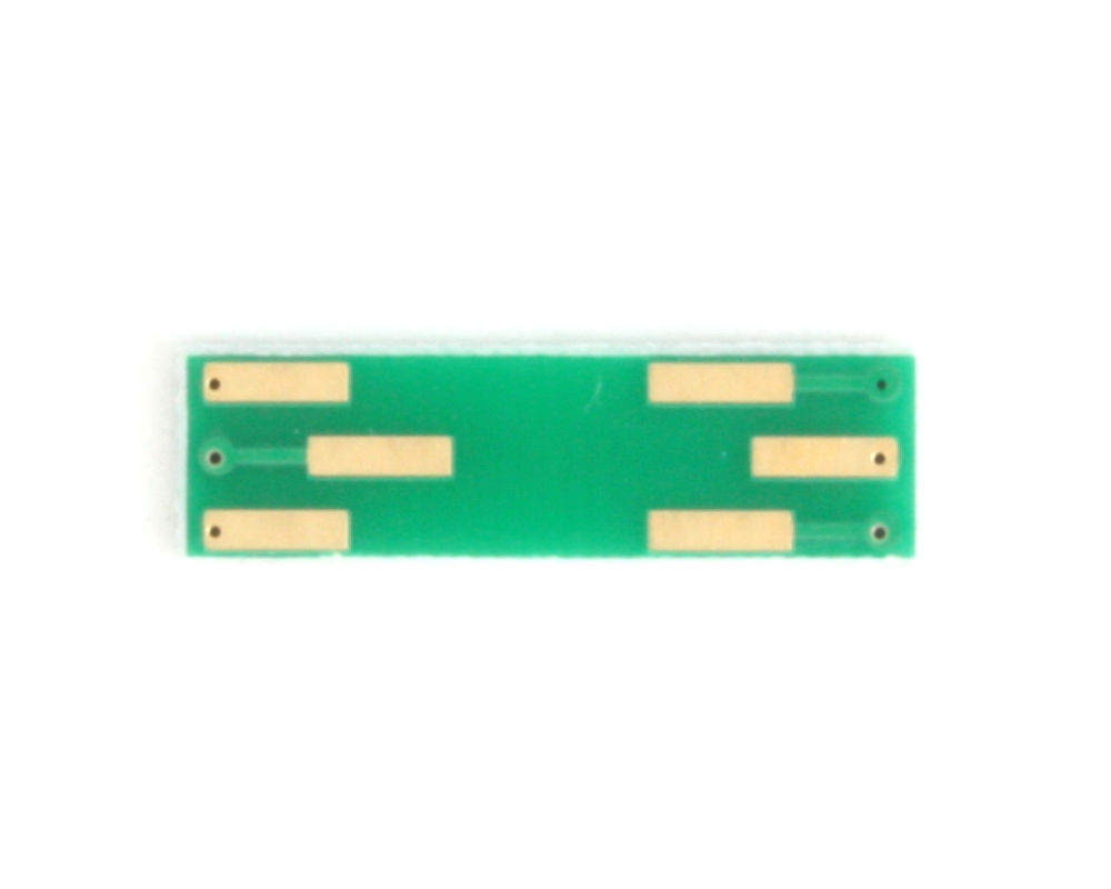 SOT-886 to DIP-6 SMT Adapter (0.5 mm pitch, 1.35 x 1.0 mm body) 3