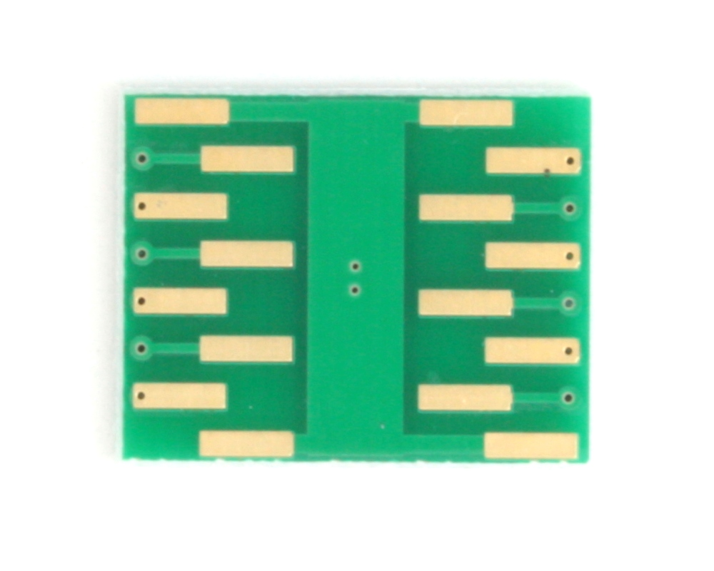 DFN-12 to DIP-16 SMT Adapter (0.5 mm pitch, 3 x 2 mm body) 3