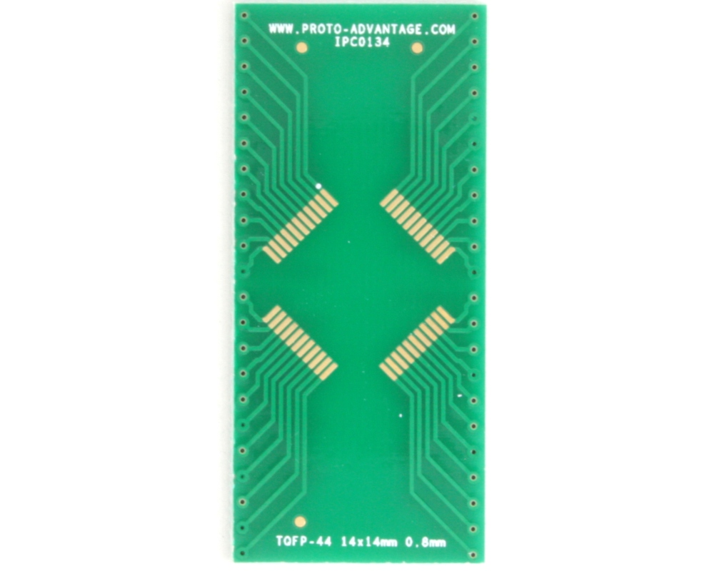 TQFP-44 to DIP-44 SMT Adapter (0.8 mm pitch, 14 x 14 mm body) 2