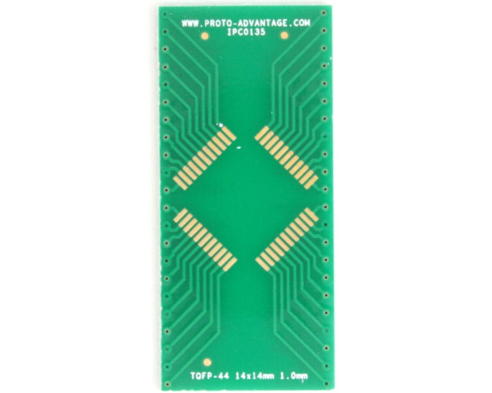 TQFP-44 to DIP-44 SMT Adapter (1.0 mm pitch, 14 x 14 mm body) 2