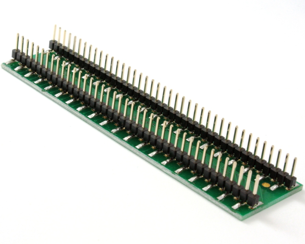 TQFP-80 to DIP-80 SMT Adapter (0.8 mm pitch, 14 x 20 mm body) 1
