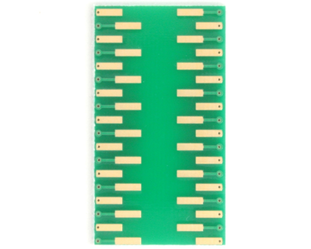 SSOP-36 to DIP-36 SMT Adapter (0.8 mm pitch, 15.4 x 7.5 mm body) 3