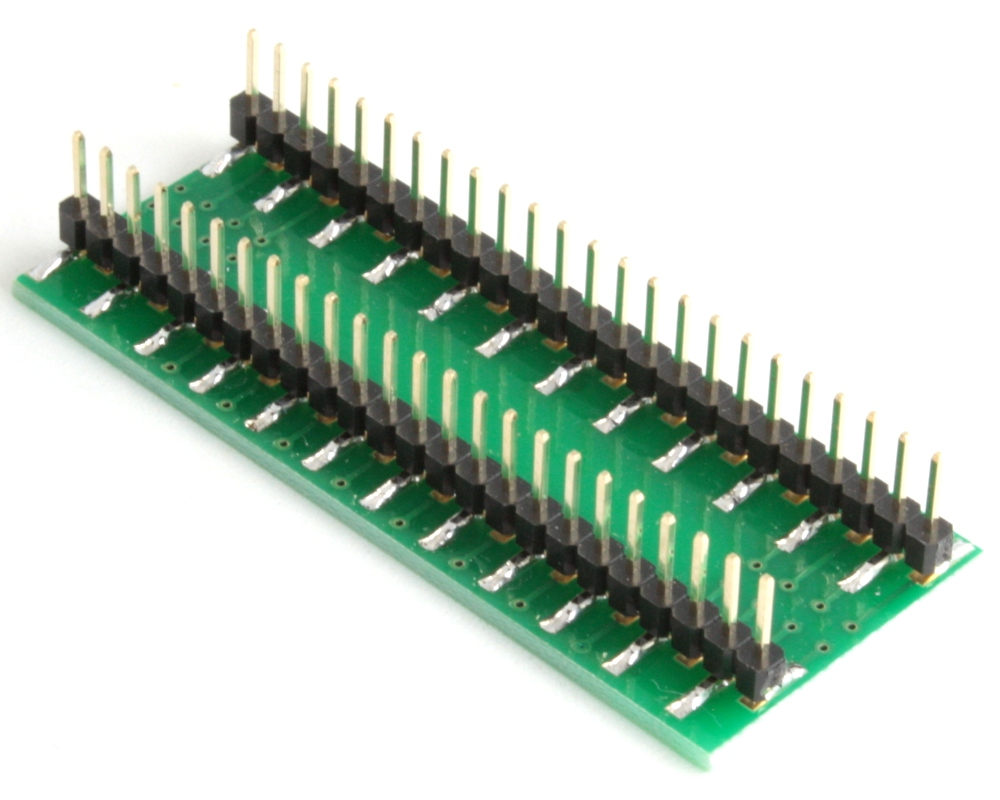 HSOP-48 to DIP-52 SMT Adapter (0.65 mm pitch, 16 x 8.8 mm body) 1