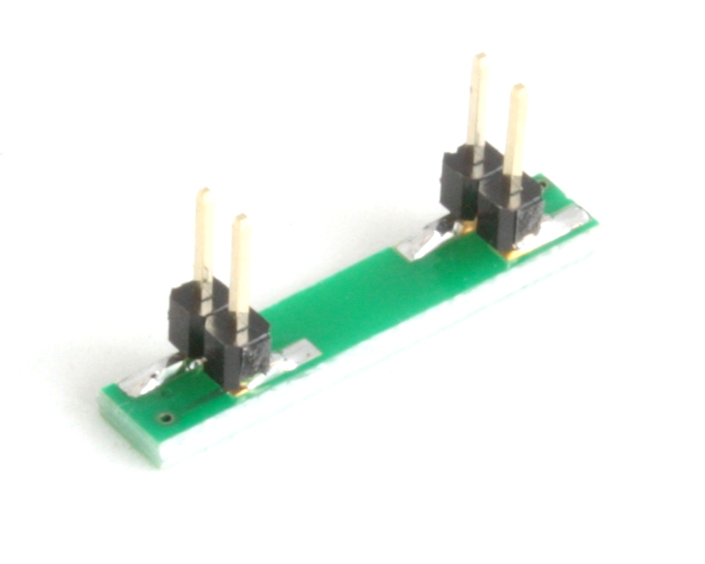 PLCC-4 to DIP-4 SMT Adapter (1.5 mm pitch, 3.2 x 2.8 mm body) 1