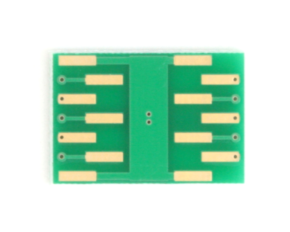 DFN-10 to DIP-14 SMT Adapter (0.5 mm pitch, 2.5 x 2.5 mm body) 3