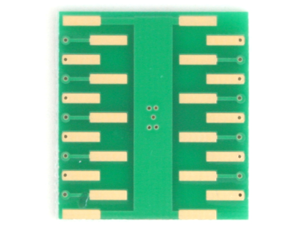 DFN-18 to DIP-22 SMT Adapter (0.4 mm pitch, 4.5 x 3.5 mm body) 3