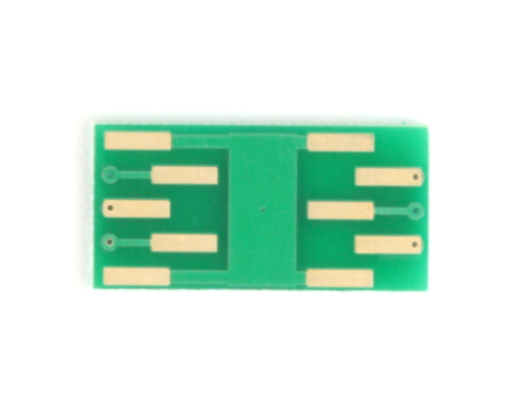 DFN-6 to DIP-10 SMT Adapter (0.5 mm pitch, 2 x 3 mm body) 3