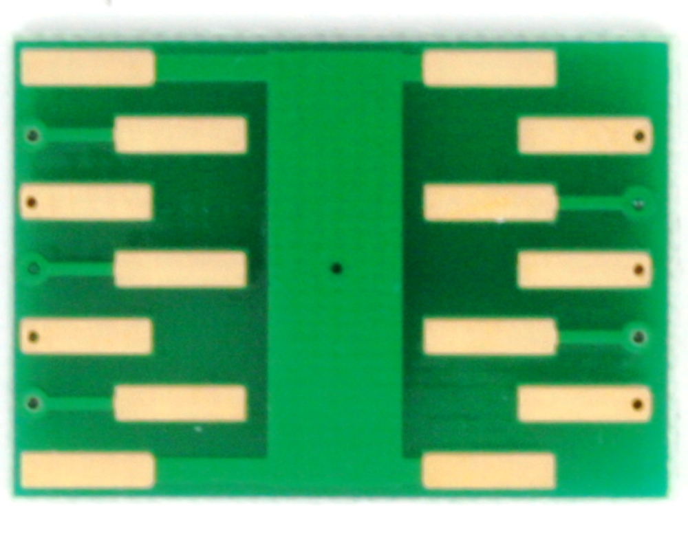 DFN-10 to DIP-14 SMT Adapter (0.4 mm pitch, 2 x 2 mm body) 3