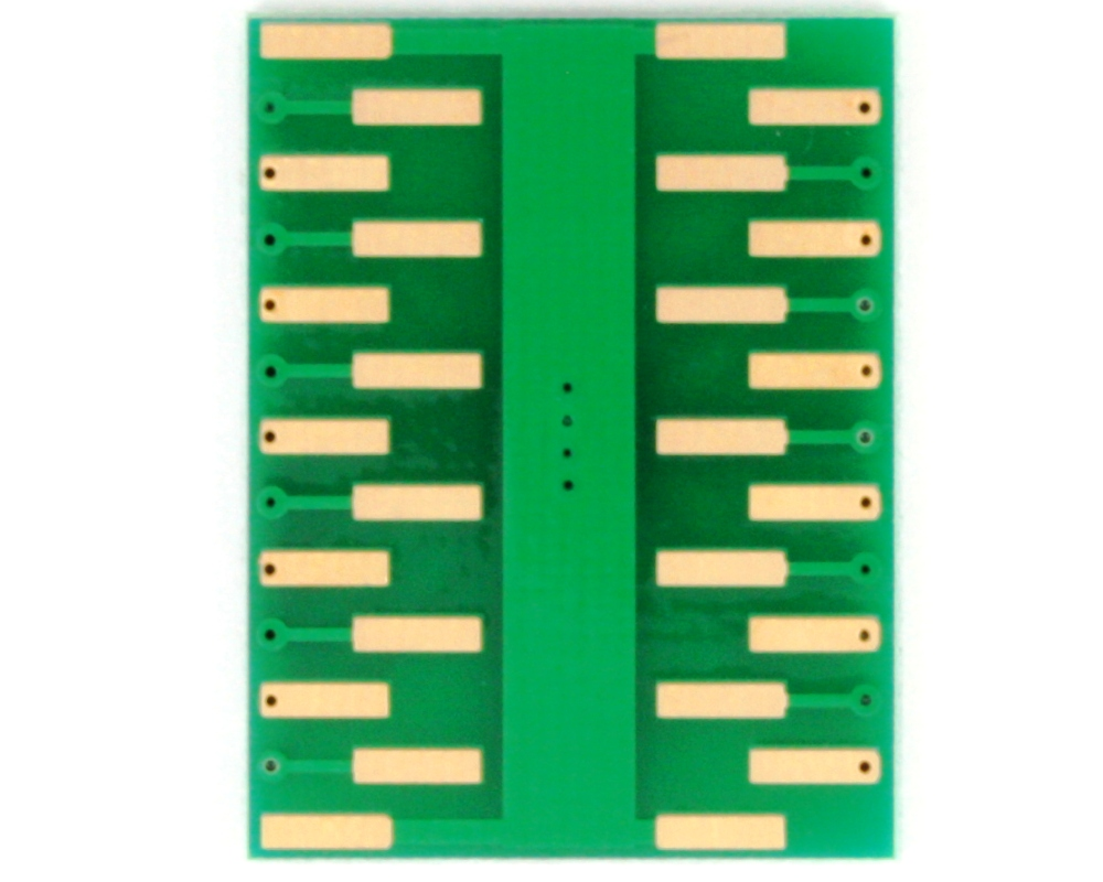 DFN-22 to DIP-26 SMT Adapter (0.5 mm pitch, 6 x 3 mm body) 3