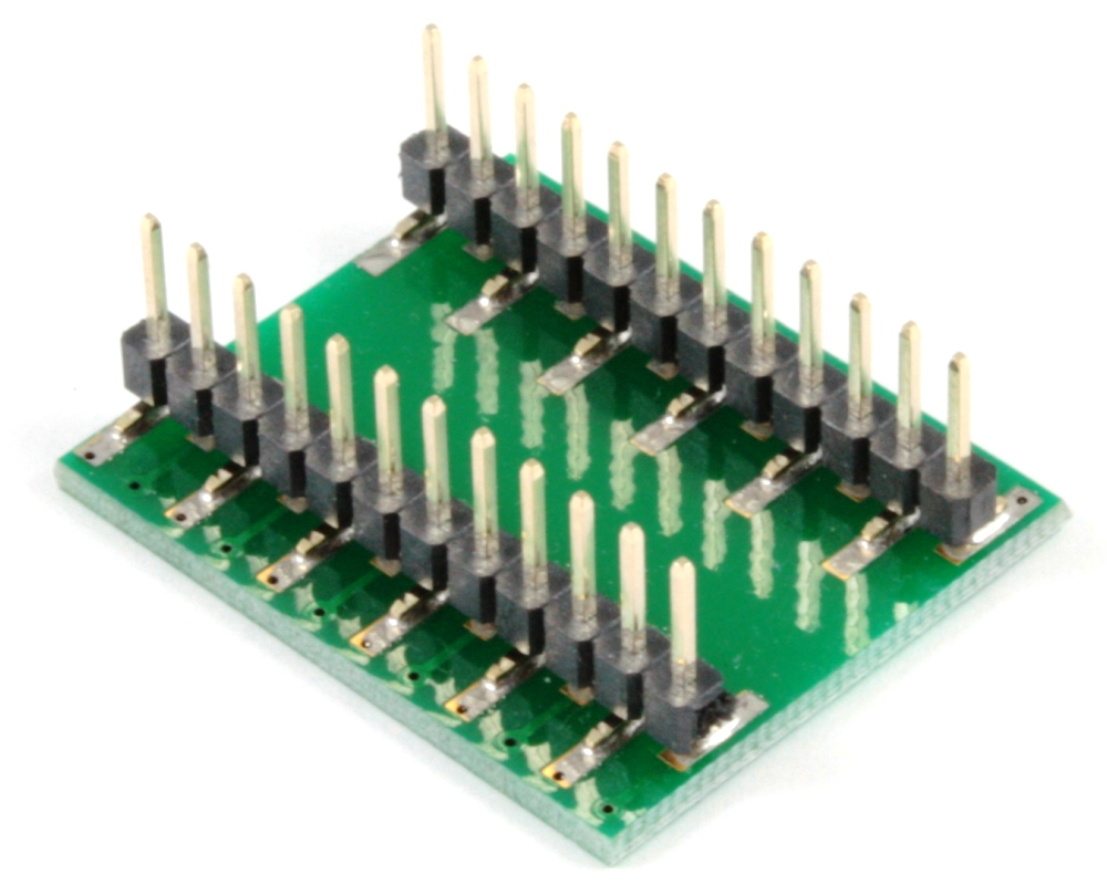 SSOP-24 to DIP-24 SMT Adapter (1.0 mm pitch, 13 x 6 mm body) 1