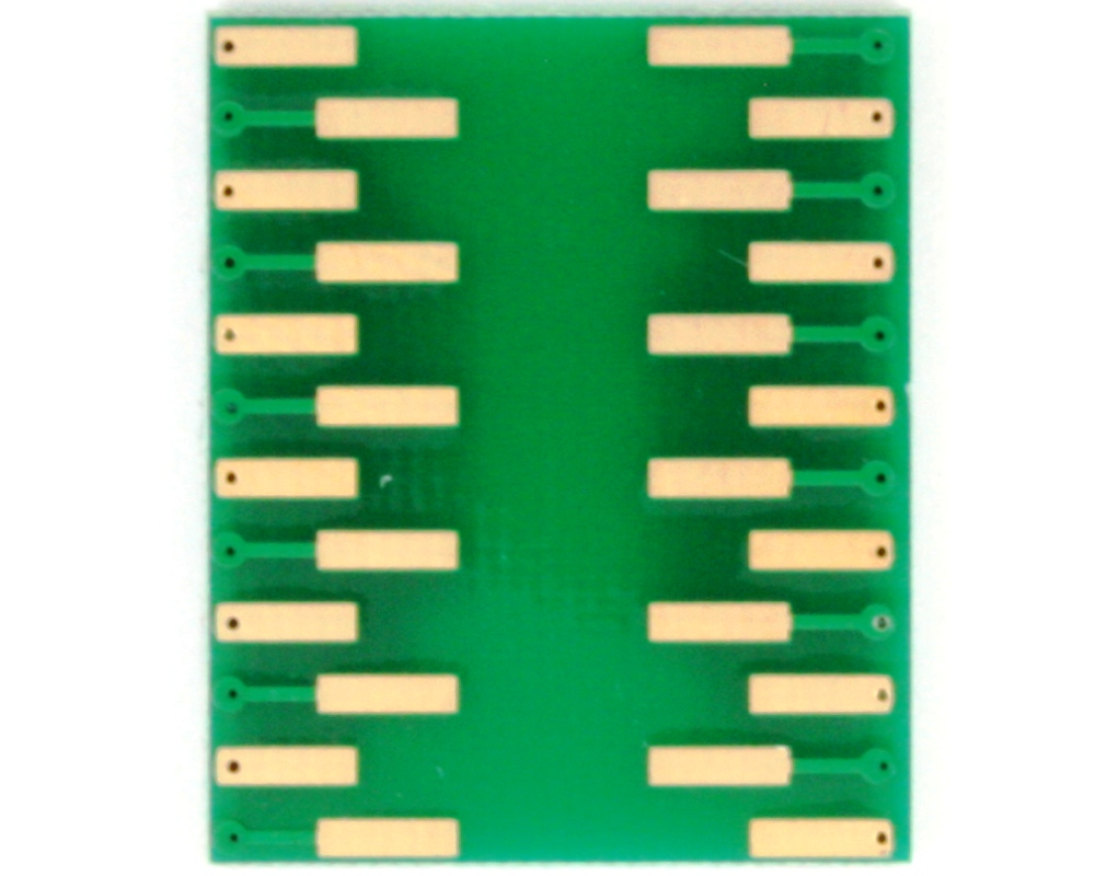 SSOP-24 to DIP-24 SMT Adapter (1.0 mm pitch, 13 x 6 mm body) 3