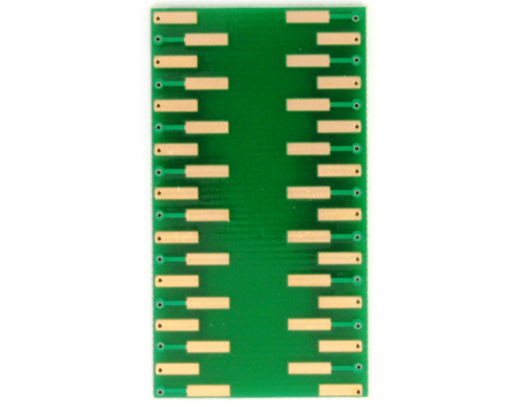 SOP-36 to DIP-36 SMT Adapter (0.65 mm pitch, 12.8 x 7.5 mm body) 3