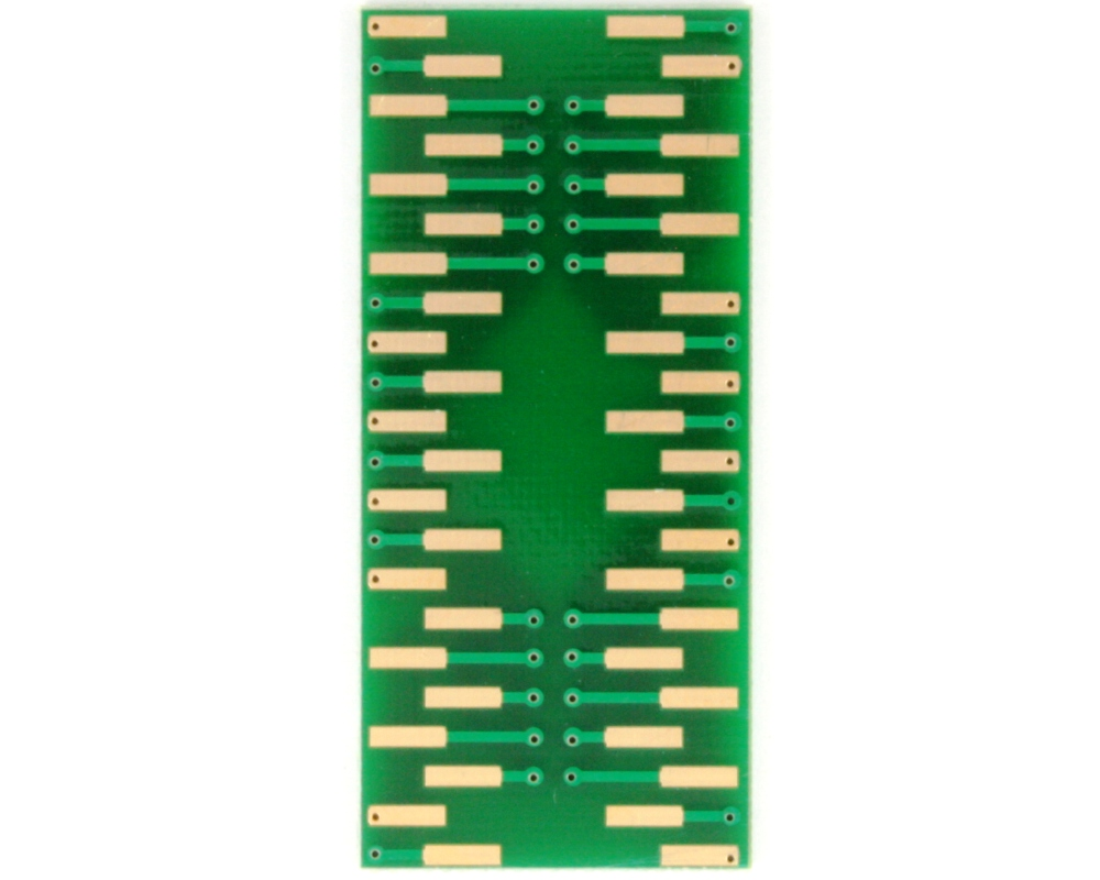 SOIC-44 to DIP-44 SMT Adapter (1.27 mm pitch, 28.1 x 13.2 mm body) 3