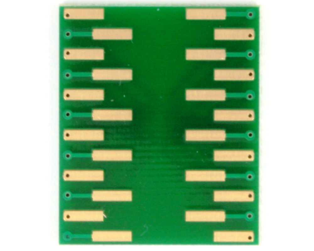 BGA-24 to DIP-24 SMT Adapter (1.0 mm pitch, 8 x 6 mm body) 3
