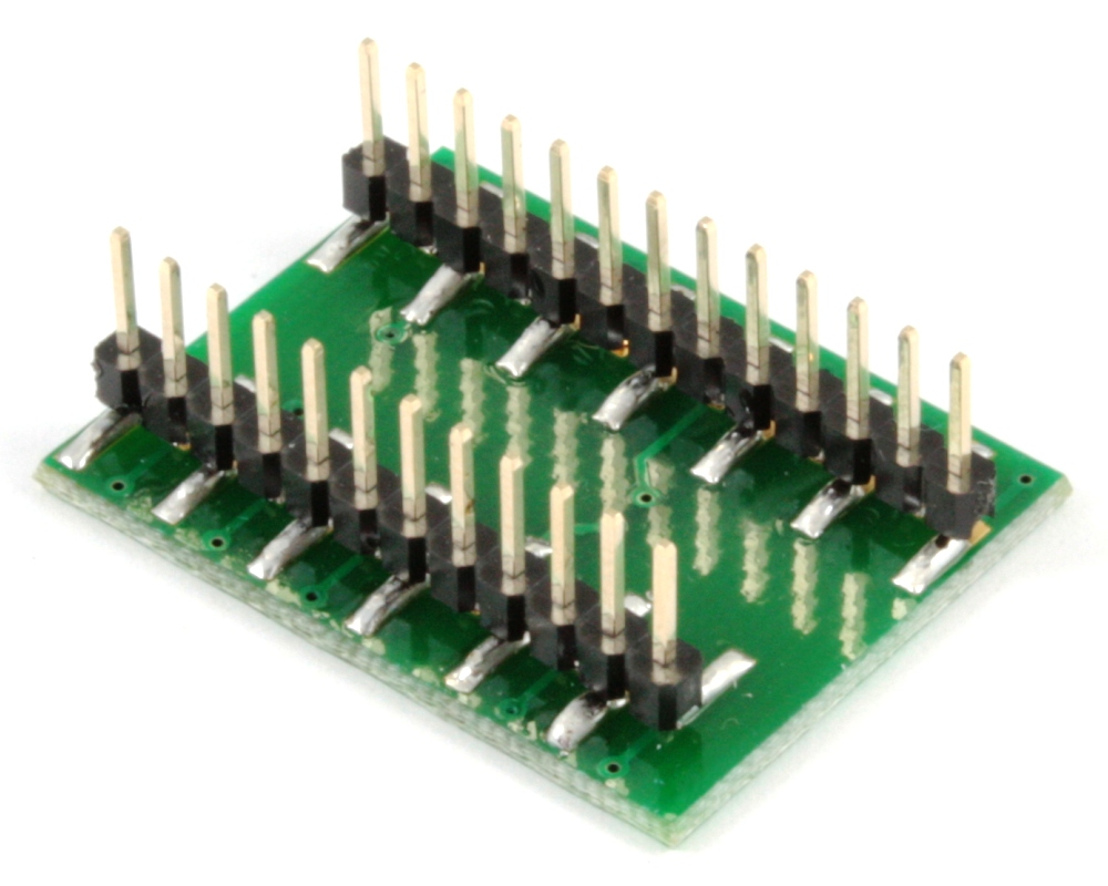 BGA-25 to DIP-25 SMT Adapter (1.0 mm pitch, 8 x 6 mm body) 1