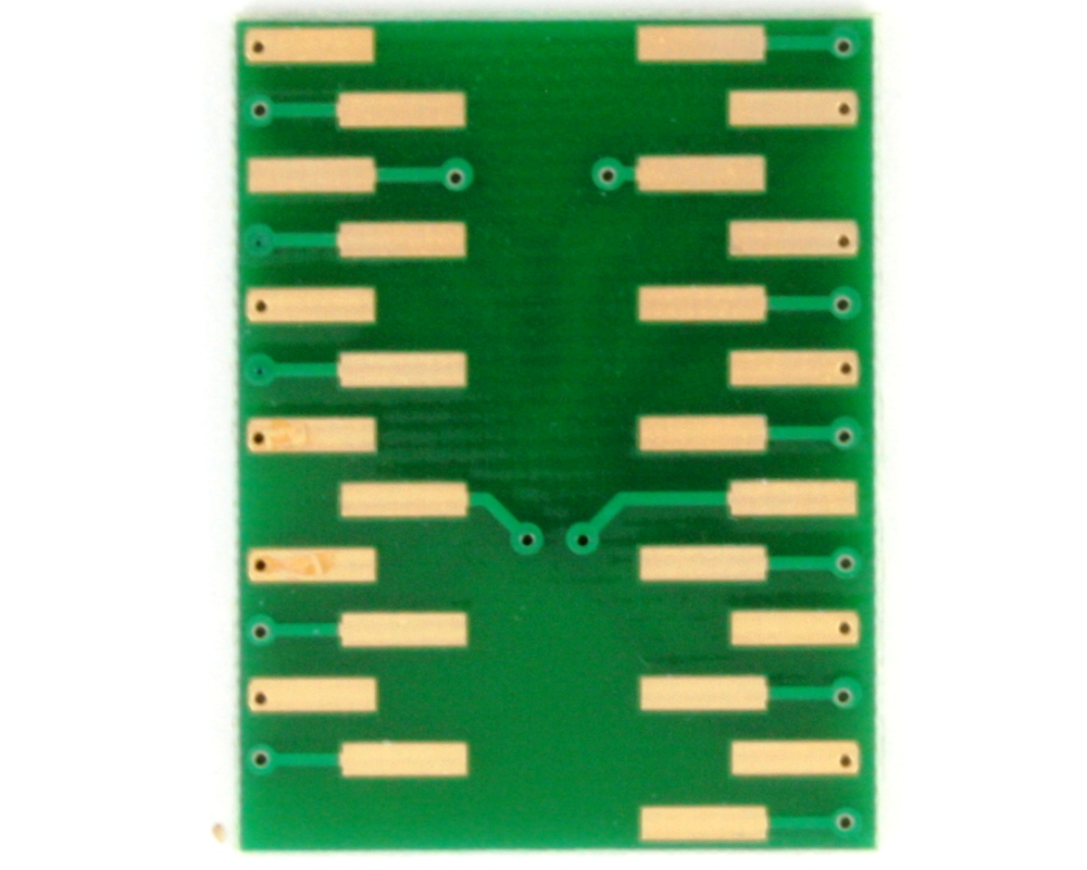BGA-25 to DIP-25 SMT Adapter (1.0 mm pitch, 8 x 6 mm body) 3
