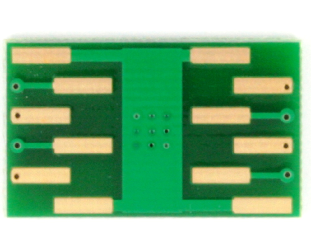 DFN-8/MLP-8 to DIP-12 SMT Adapter (1.27 mm pitch, 6 x 8 mm body) 3