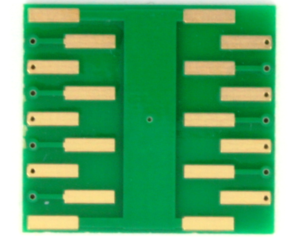 QFN-14 to DIP-18 SMT Adapter (0.5 mm pitch, 3 x 2.5 mm body) 3