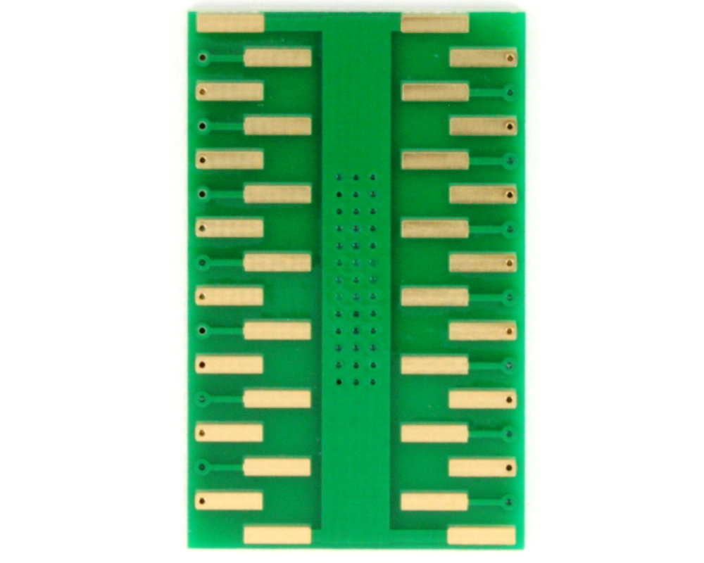 PowerPAD-28/PowerSOIC-28 to DIP-32 SMT Adapter (1.27 mm pitch, 300 mil body) 3