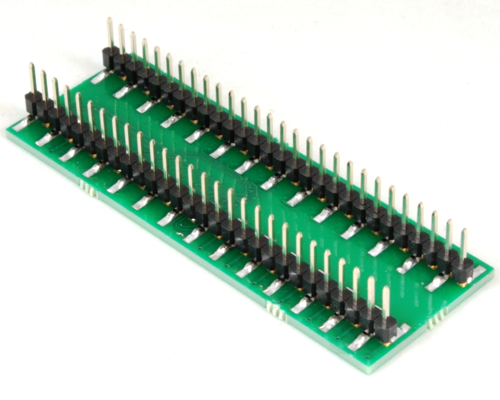 BGM121/BGM123 to DIP-56 SMT Adapter (0.4 mm pitch, 6.5 x 6.5 mm body) 1