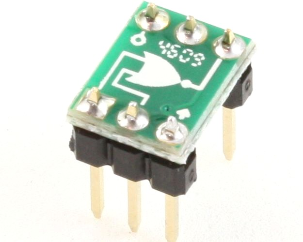 NOR gate to DIP-6 SMT Adapter 0