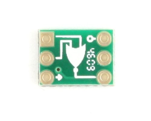 NOR gate to DIP-6 SMT Adapter 1