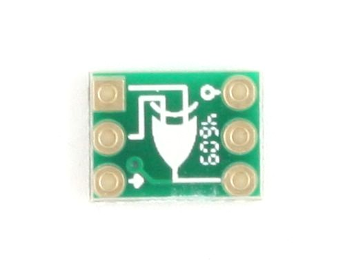 EX-OR gate to DIP-6 SMT Adapter 1