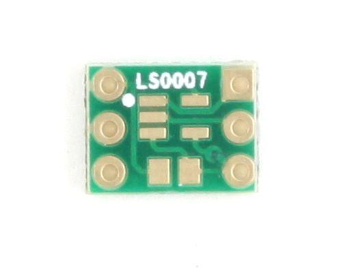 Inverter, Schmitt Triggered to DIP-6 SMT Adapter 2