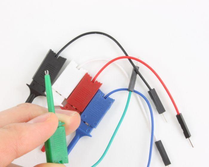 Mini Grab Test Clips for IC pins (Mini Grabbers) 1