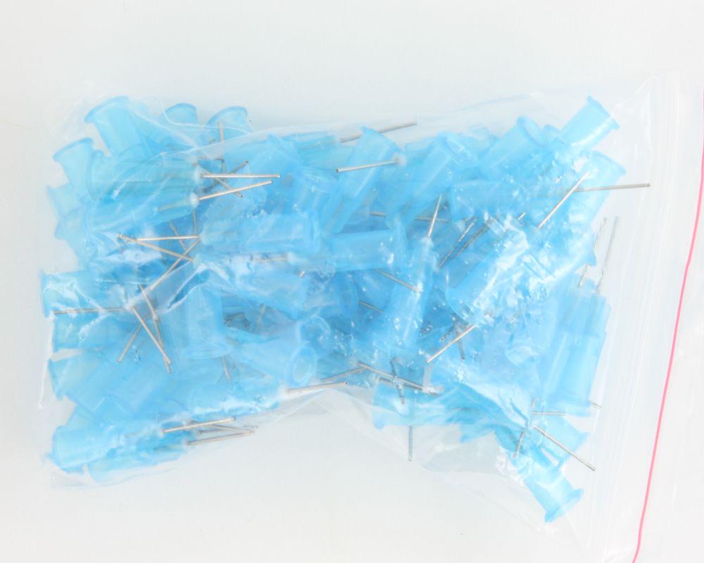 Stainless Steel Needles / Syringe Tips 100 pack - 23 gauge 0