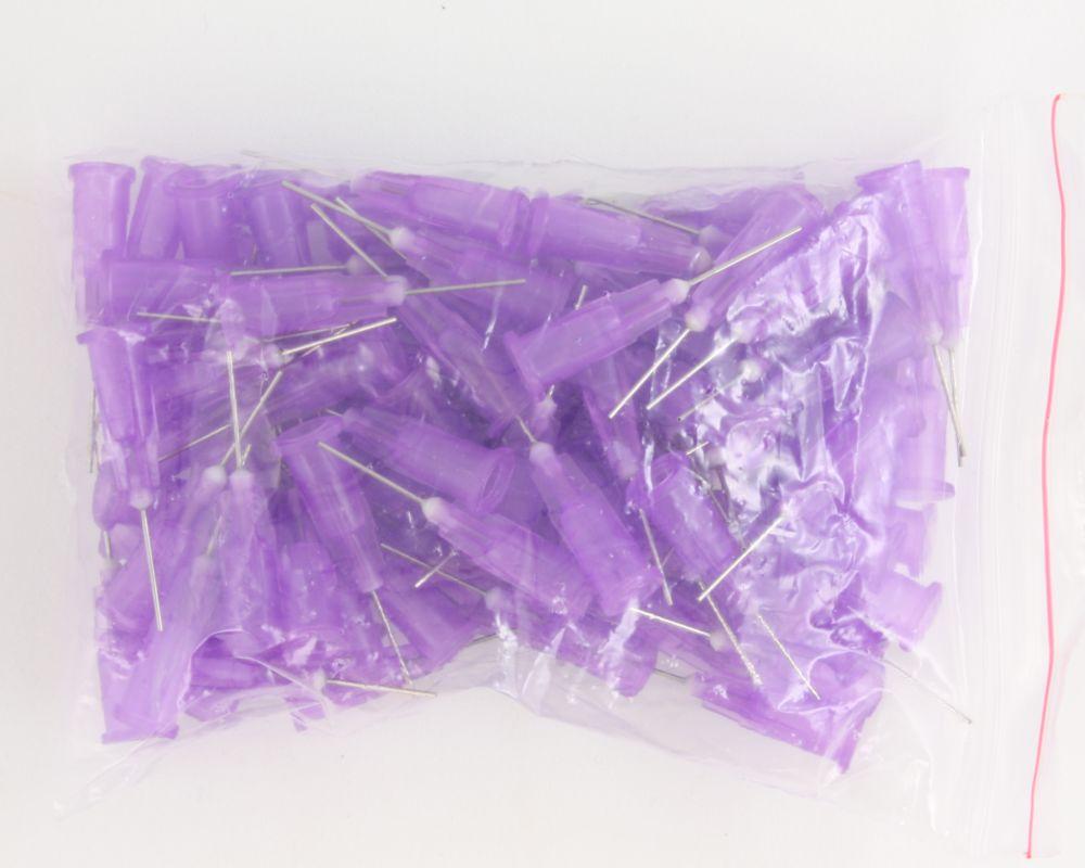 Stainless Steel Needles / Syringe Tips 100 pack - 24 gauge 0