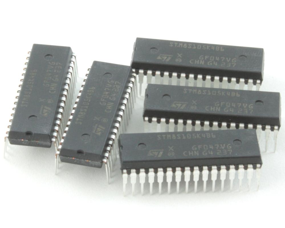 STM8S105K4B6 chips for GoModules (5 pack) - DIP 1