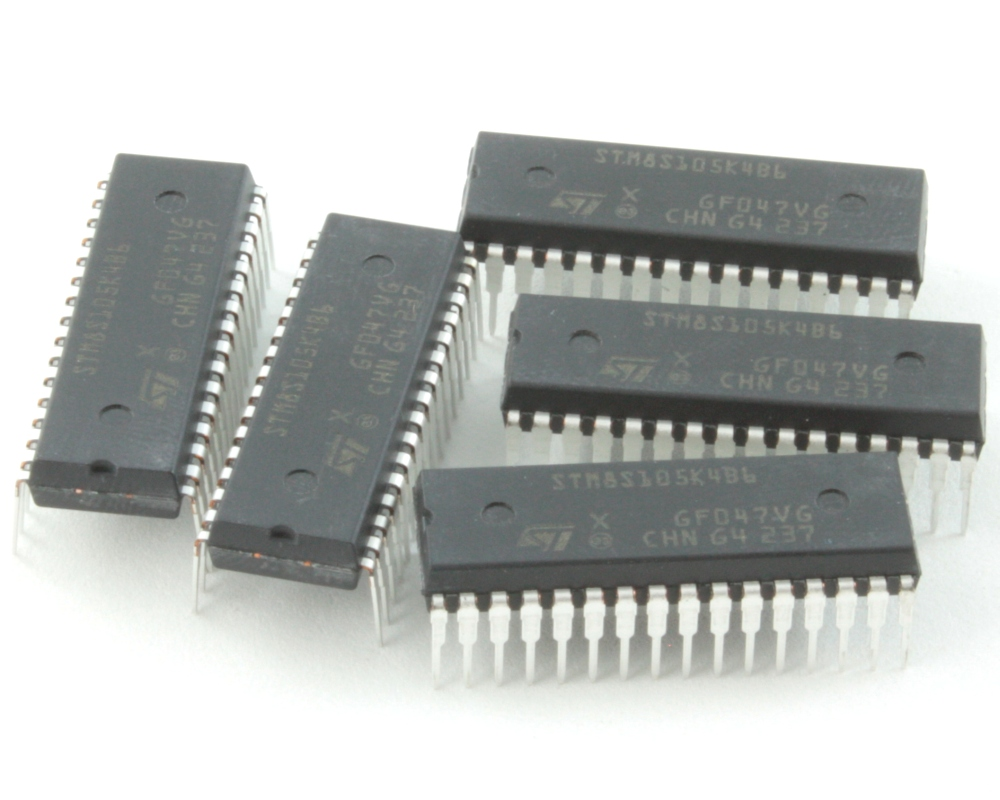 STM8S105K4B6 chips for GoModules (5 pack) - DIP 1