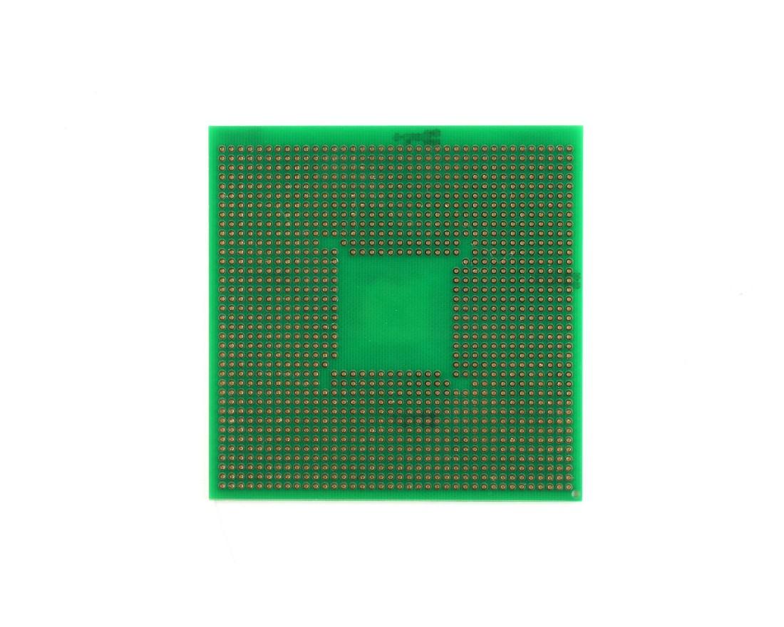 TQFP 48,64,80,100 pin breadboard - TH 1