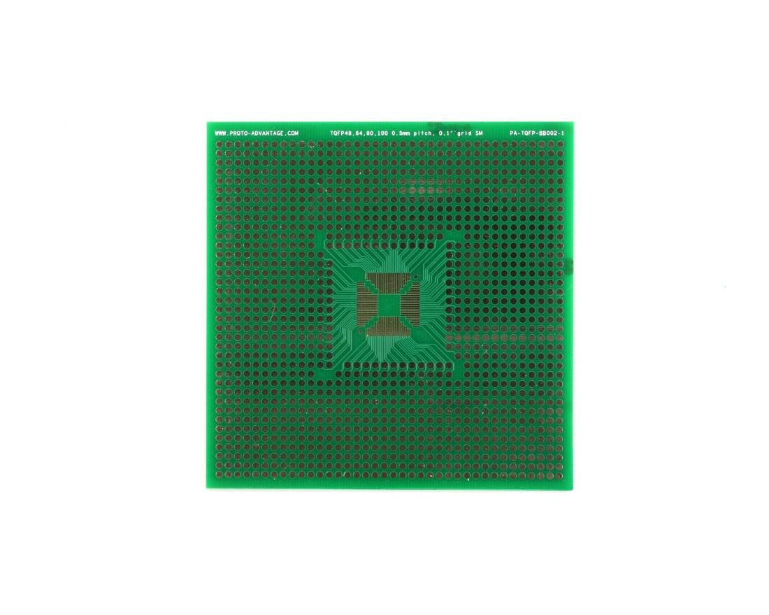 TQFP 48,64,80,100 pin breadboard - SM 0