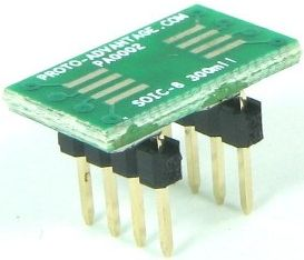 SOIC-8 (1.27 mm pitch, 300 mil body) 0
