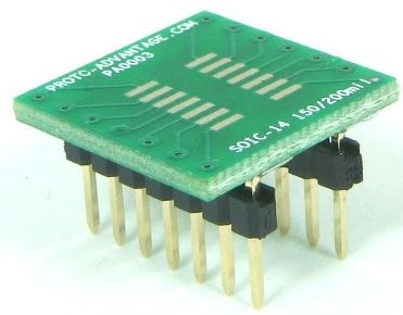 SOIC-14 (1.27 mm pitch, 150/200 mil body) 0