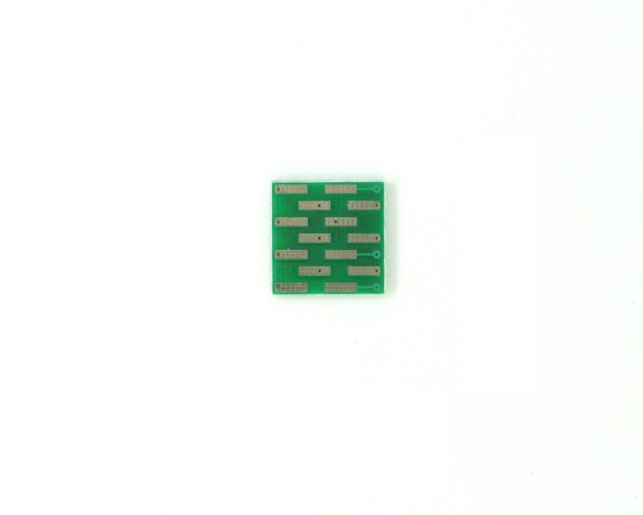 SOIC-14 to DIP-14 SMT Adapter (1.27 mm pitch, 300 mil body) 1