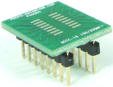 SOIC-16 (1.27 mm pitch, 150/200 mil body) 0