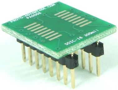 SOIC-16 (1.27 mm pitch, 300 mil body) 0