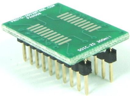 SOIC-20 (1.27 mm pitch, 300 mil body) 0