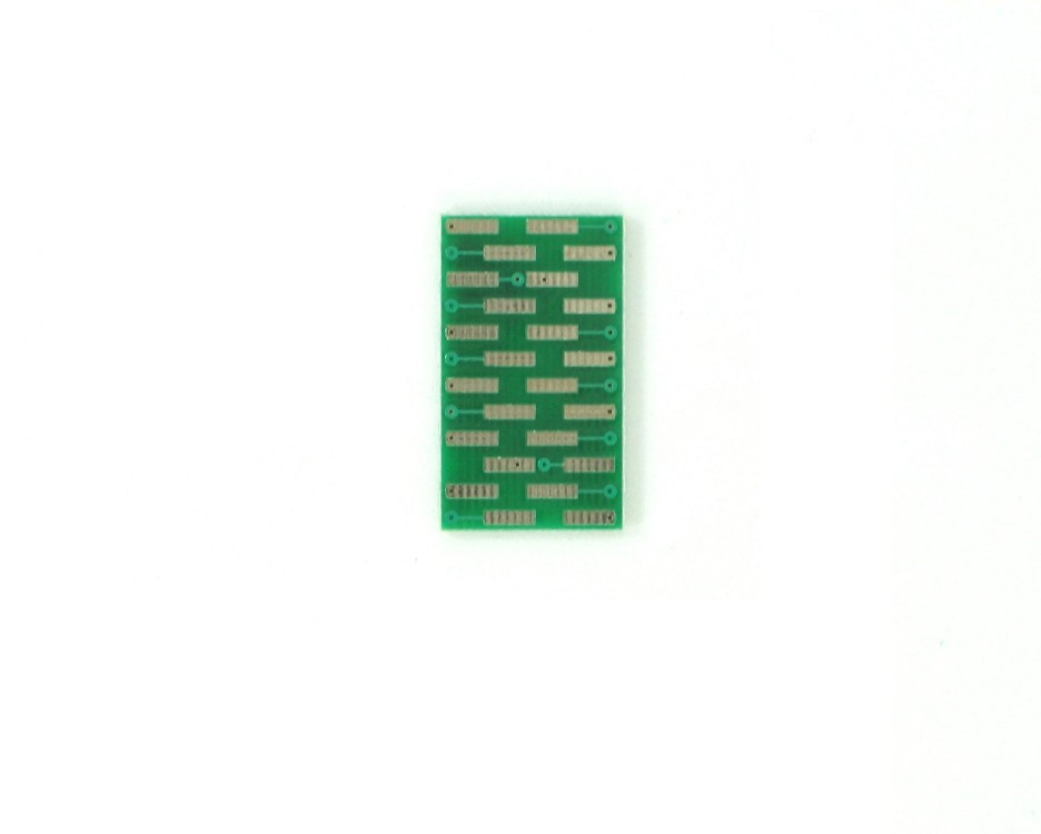 SOIC-24 to DIP-24 SMT Adapter (1.27 mm pitch, 300 mil body) 1