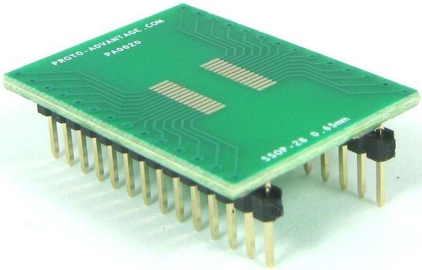 SSOP-28 (0.65 mm pitch) 0